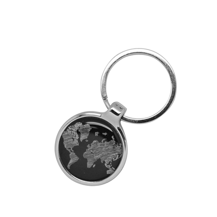 Llavero mapa del mundo