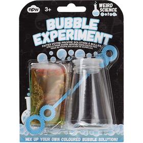Bubble experiment