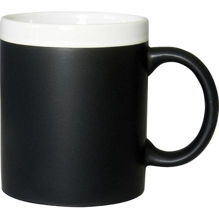 Taza pizarra blanca
