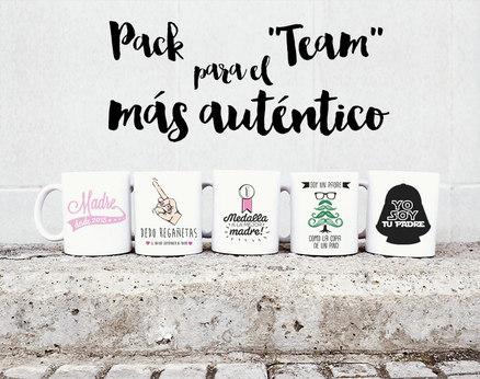 Pack de tazas doble para los padres más auténticos