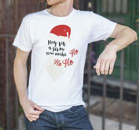 Camiseta original Hoy va a ser mi gran noche para hombre