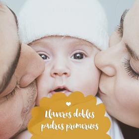 Llaveros dobles para padres primerizos