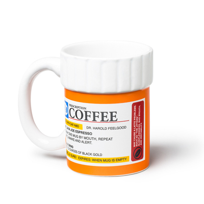Taza prescription pill bottle