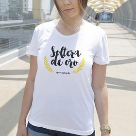 Camiseta original Soltera de Oro para mujer