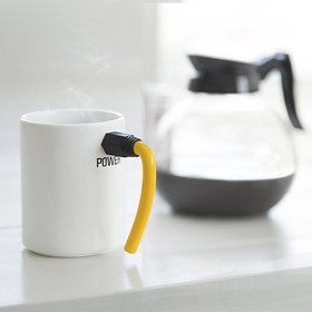 Taza mug cable Inn rojo