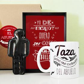 Pack de regalos exclusivos para abuelos