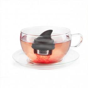 Infusor de té con forma de aleta de tiburón