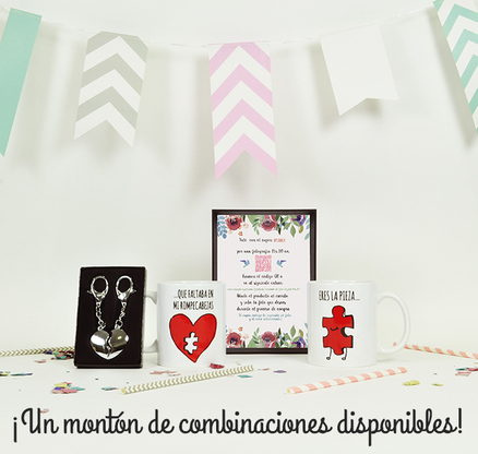 Pack de regalos para los novios en su boda