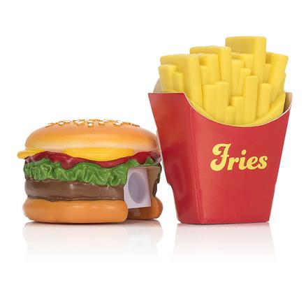 Goma y sacapuntas Fast Food