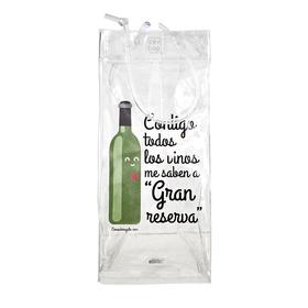 Bolsa enfriadora de botellas Ice.bag® Contigo todos los vinos saben a gran reserva
