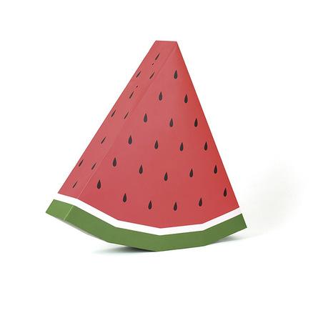 Piñata con forma de sandía