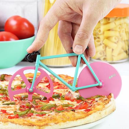 Cortador de pizza con forma de Fixie Sandia