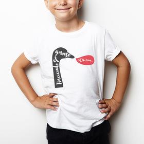 Camiseta para niños Haciendo el ganso