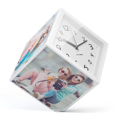 Marco de fotos Photo-Clock para 6 fotos 15x15