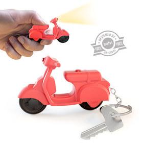 Llavero Scooter con sonido rojo
