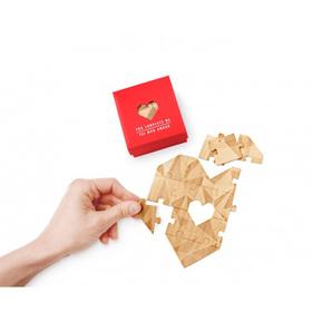 Puzzle corazón Rojo You complete me mint