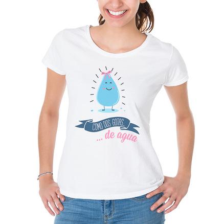 Camiseta original Como dos gotas de agua hija