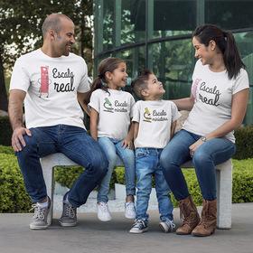 Pack camiseta doble Escala real y escala miniatura