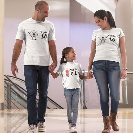 Pack camiseta doble Versión 1.0 y Versión 2.0