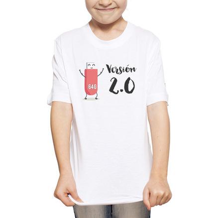 Camiseta original para la niña V2.0