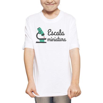 Camiseta original a escala de sus padres para niña