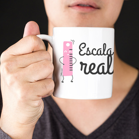 Taza original para madre A escala real