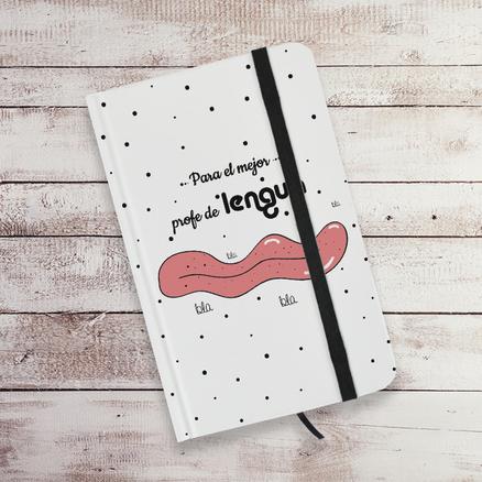 Libreta A6 Para el mejor profe de lengua