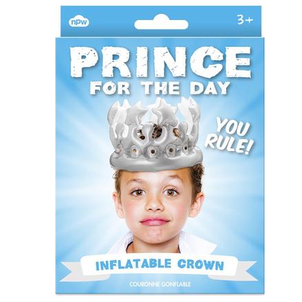 Sombrero inflable principe por un día