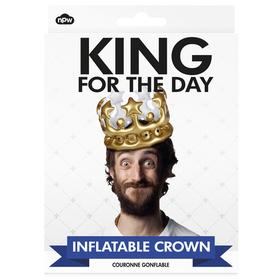 Sombrero inflable rey por un día