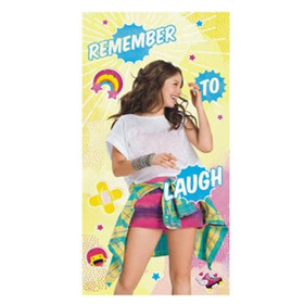 Toalla Soy Luna Disney Laugh microfibra