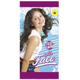 Toalla Soy Luna Disney Face microfibra