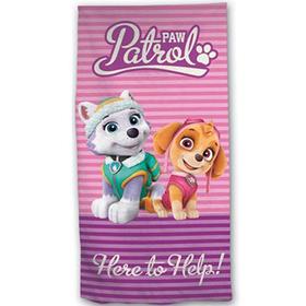 Toalla Patrulla Canina Paw Patrol Here to Help microfibra