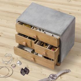 Caja joyero Loft madera