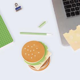 Block de notas con forma de burger