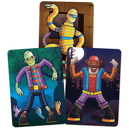 Sticky Mosaics® Monstruos Brillantes