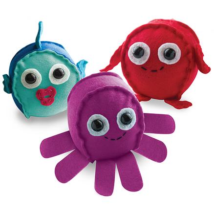 Aprende a coser con Sew Softies™ Criaturas marinas