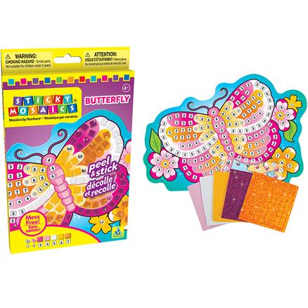 Sticky Mosaics® Peq. Mariposa