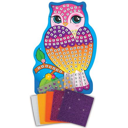 Sticky Mosaics® Peq. Búho