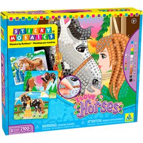 Maletín Sticky Mosaics® Caballos