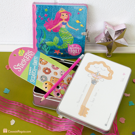 Pack de regalos para niñas Best friends