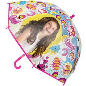 Paraguas burbuja transparente Soy Luna Disney Ouch POE 48cm