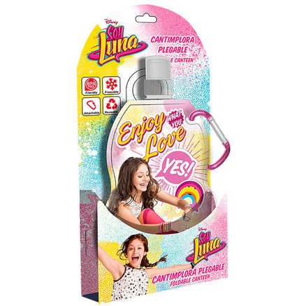 Cantimplora plegable Soy Luna Enjoy Love