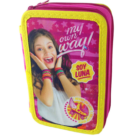 Plumier Soy Luna Disney My Own Way triple