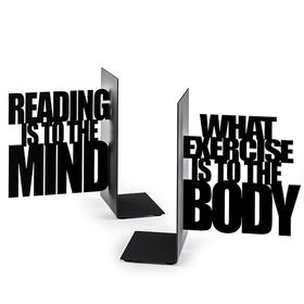 Sujeta libros Mind Exercise negro