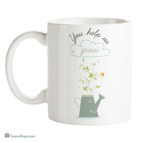 Original Mug You help us grow (ENG)