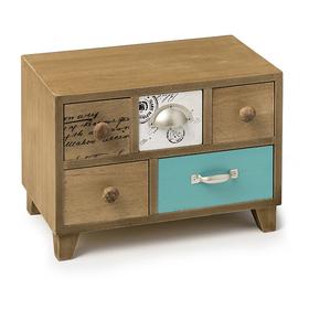 Caja joyero Bureau madera