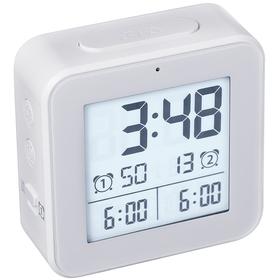 Despertador Vision blanco ABS