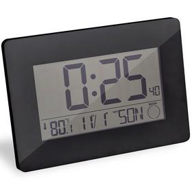 Reloj & despertador Espace negro ABS