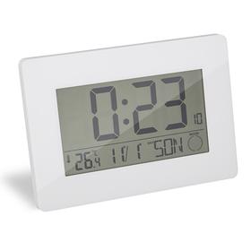 Reloj & Despertador Espace blanco ABS