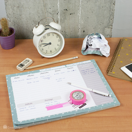 Planificador semanal CosasdeRegalo.com